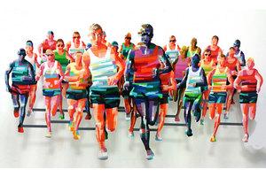 David GERSTEIN - Escultura - Marathon NY