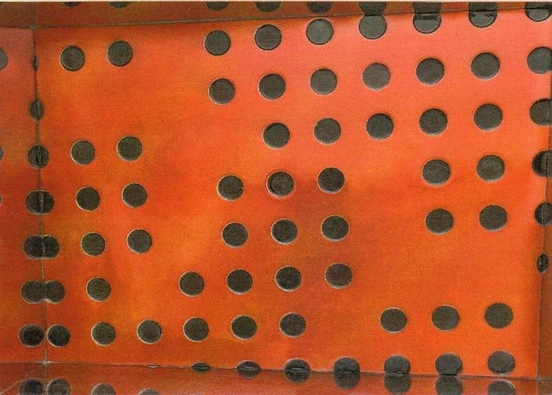 Matteo NEGRI - Skulptur Volumen - Kamigami Red Window