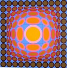 Victor VASARELY - Print-Multiple - *Tri-Vega