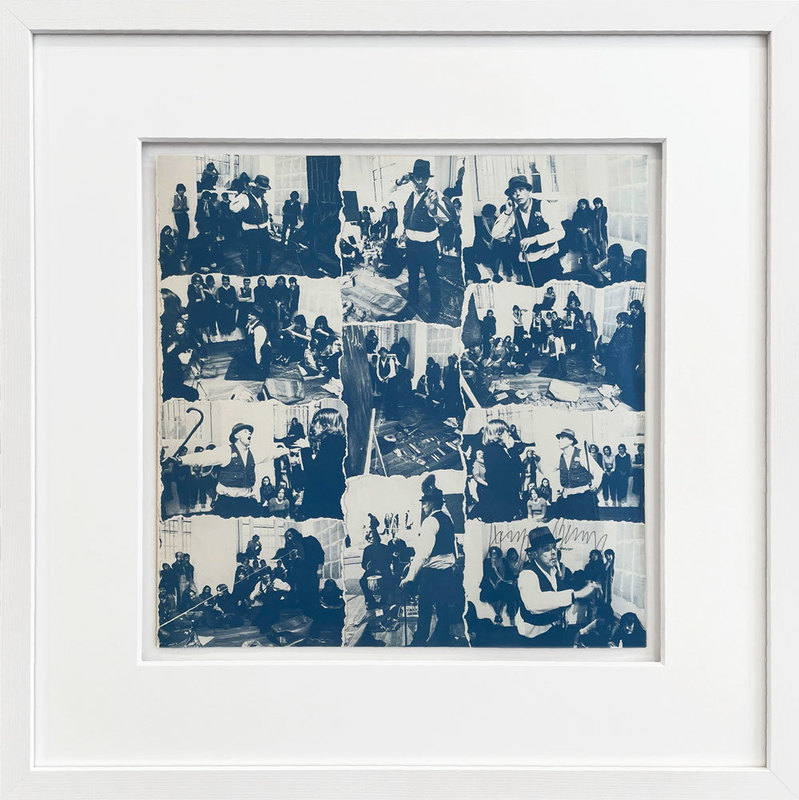 Joseph BEUYS - Print-Multiple - A Concert at the ICA (Blue Version)