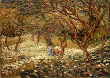 Auguste DUREL - Painting - le pique-nique (N°13)