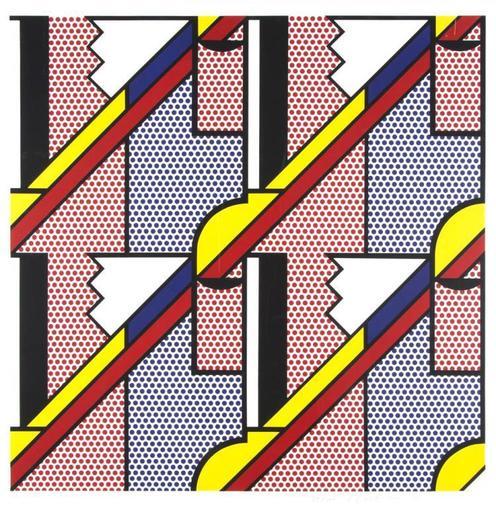 Roy LICHTENSTEIN - Stampa Multiplo - Modern Print