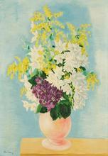 Moïse KISLING - Painting - Narcisses
