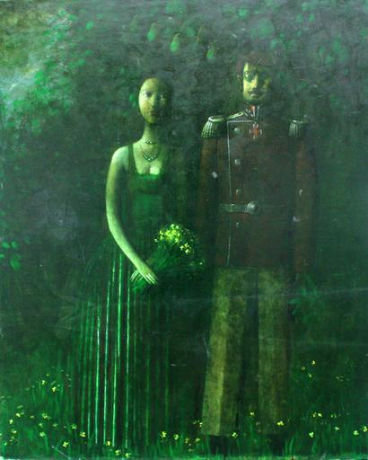 Zurab GIKASHVILI - Peinture - Walk