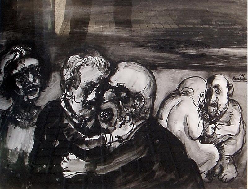 Agustìn PEREZ BELLAS - Disegno Acquarello - CRITICANDO
