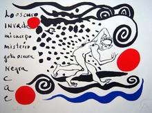 "Alexander CALDER (1898-1976) - ""Lo oscuro invade"""