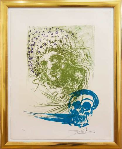 Salvador DALI - Print-Multiple - Estades de la Vida - Das Alter