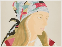 Alex KATZ - Estampe-Multiple - Anne