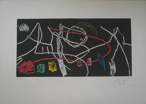 Joan MIRO - Grabado - Gravures Pour une Exposition (plate 3 of 4)