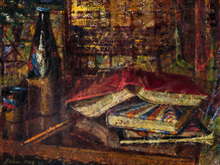 Corneliu BABA - Painting - In the Study