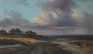 Georges MICHEL - Gemälde - Landschaft