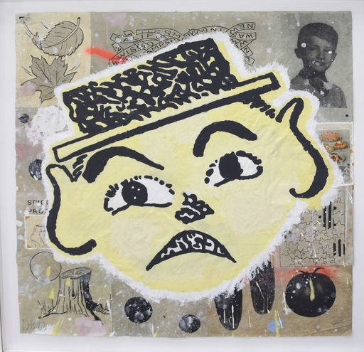 Donald BAECHLER - Pintura - Hand ver fist