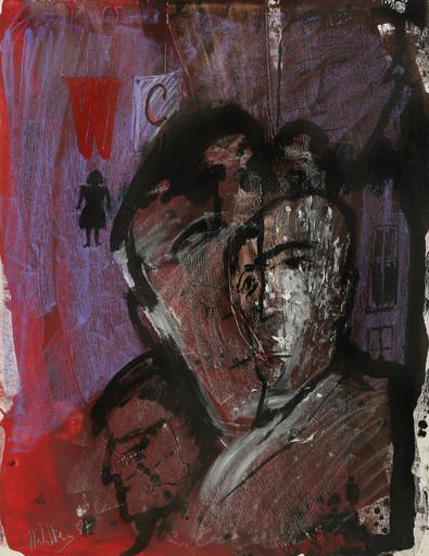 Zvi MILSHTEIN - Drawing-Watercolor - Sans titre (36)