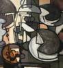 Claude VENARD - Gemälde - Nature morte a la mappe monde