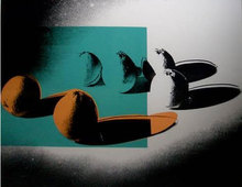 Andy WARHOL (1928-1987) - Oranges, from Space Fruit: Still Lifes