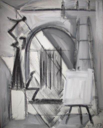 Manuel QUEJIDO - Pintura - El tabique