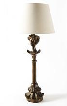 Alberto GIACOMETTI - Escultura - Lampe tête de femme