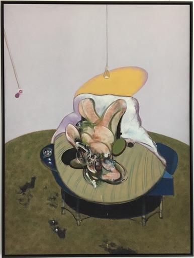 Francis BACON - Stampa-Multiplo - Lying figure 1969