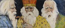 Alexandre ALTMANN - Pintura - Three Orthodox Priests