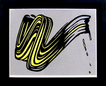 Roy LICHTENSTEIN - Print-Multiple - Brushstroke
