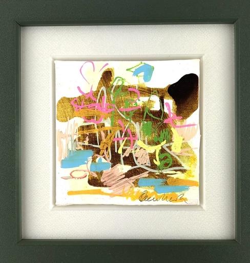 Nicole LEIDENFROST - Gemälde - Saharasand/bunt