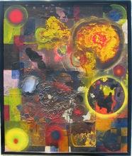 Dale Leonard FRANK - Gemälde - The Painting of hate 1