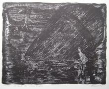 Auguste Jean GAUDIN - Grabado - LITHOGRAPHIE SIGNÉE AU CRAYON NUM/140 HANDSIGNED LITHOGRAPH