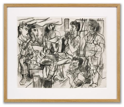 Peter DE FRANCIA - Disegno Acquarello - Dockers