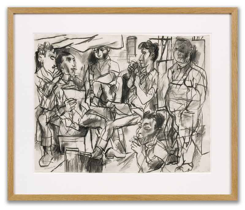 Peter DE FRANCIA - Drawing-Watercolor - Dockers