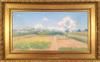 Achille LAUGÉ - Peinture - Verger de l'Artiste