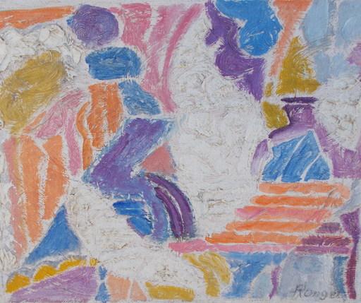 Elisabeth RONGET - Pintura - Abstrait