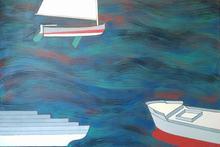 Renato MAMBOR - Painting - Nello stesso mare