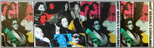 Andy WARHOL - Stampa-Multiplo - Andy Warhol & his 70s VIP Portraits