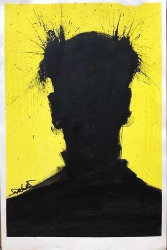 理查德·汉布尔顿 - 绘画 - Shadow Head