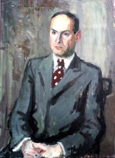 Hans Gordon JEGERLEHNER - 绘画 - Portrait