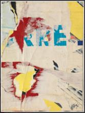 Jacques VILLEGLÉ - Painting - Rue Jacob