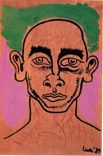 Luca BERTASSO - Pintura - Giovane di periferia