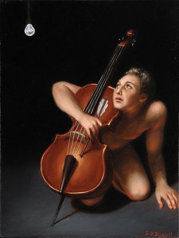Stefano DI STASIO - Painting - Sconcerto