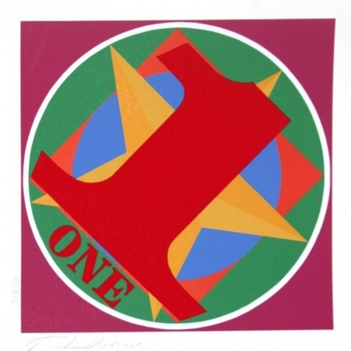 Robert INDIANA - Grabado - American Dream One