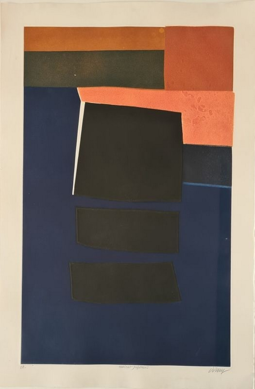 Bertrand DORNY - Print-Multiple - Japanese habitat