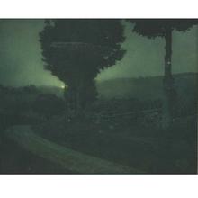 Edward STEICHEN - Fotografia - Road into the Valley--Moonrise