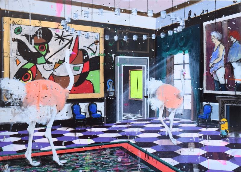 Angelo ACCARDI - Peinture - Blend