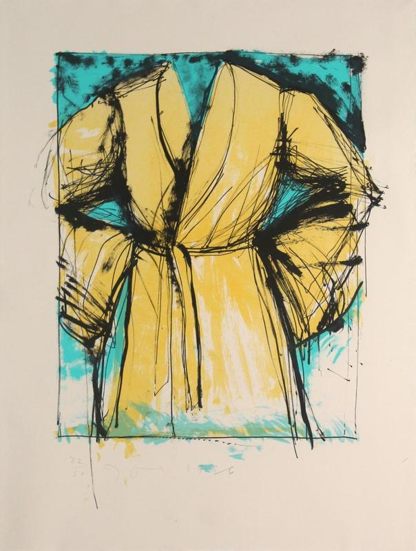 Jim DINE - Print-Multiple - A robe