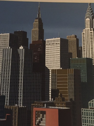 Eric PEYRET - Peinture - Chrysler building