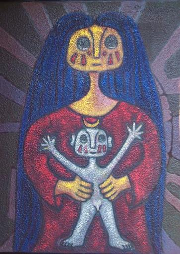 Hector NAJERA - Peinture - A Caminar II