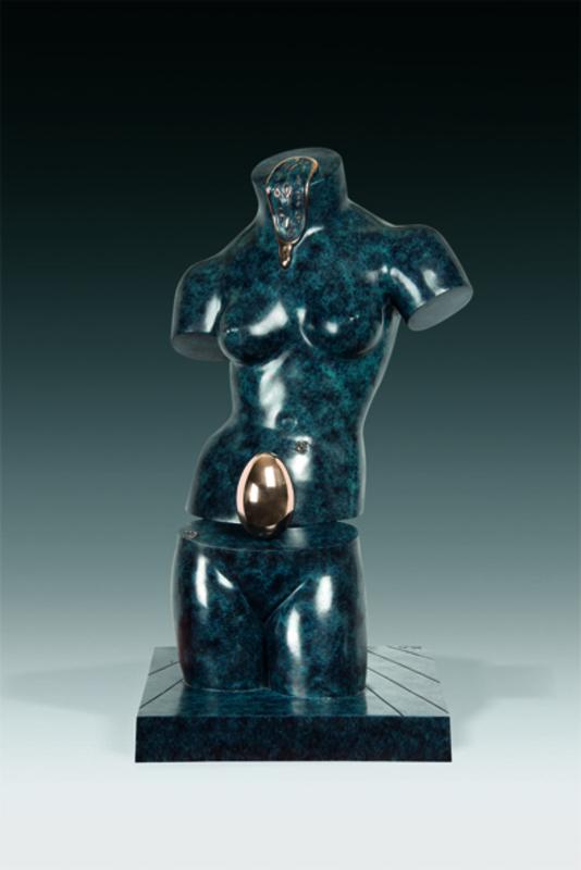 Salvador DALI - Sculpture-Volume - Space Venus, Venus spatiale