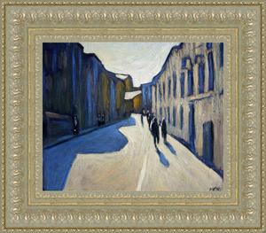 Valeriy NESTEROV - Gemälde - Lukov lane. Moscow