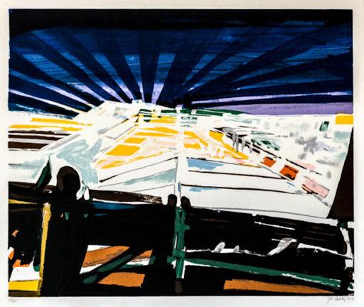 John Philip HULTBERG - 版画 - Barricade