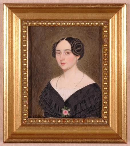 """Patricius KITTNER - Miniature - """"Portrait Miniature"""", 1846"""