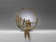 Sylvie DERELY - Sculpture-Volume - Nouvelle grande roue